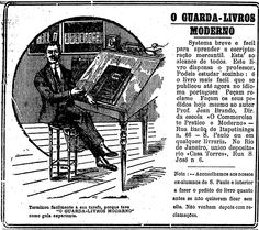 Anúncio publicado no Estadão em Agosto de 1920  Mais informações no blog Reclames do Estadão  http://blogs.estadao.com.br/reclames-do-estadao/2010/08/31/pai-do-ipad/
