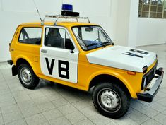 """Veřejná bezpečnost roughly translates as """"public security"""" and it probably wasn't a good thing when they showed up at your door in Communist Czechoslovakia. But I love the Lada Niva and do have a collection of VB cars."""