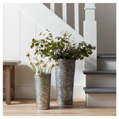 Galvanized Vase {Hearth and Hand with Magnolia}