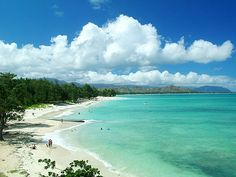 Kailua and Lanikai Beach - (more secluded) NE Oahu, I use to live there, they were both great! Kailua Hawaii, Kailua Beach, Hawaii Beach, Kailua Kona, Kauai, Aloha Hawaii, California Beach, Vacation Destinations, Dream Vacations
