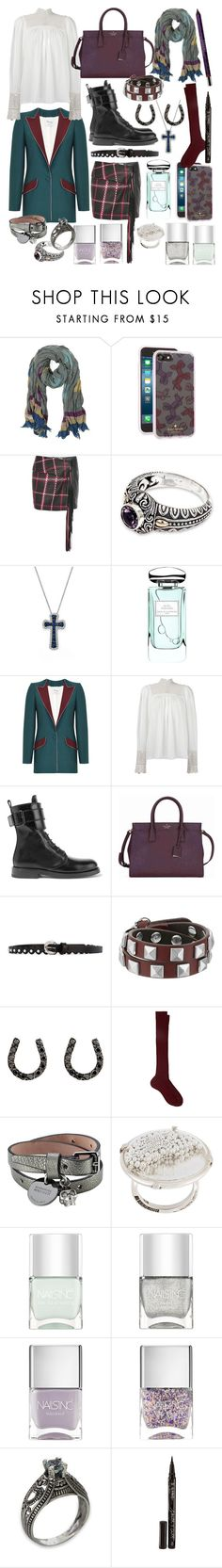 """""""unusual cosmic love"""" by nothingisnormal ❤ liked on Polyvore featuring Zadig & Voltaire, Kate Spade, Magda Butrym, NOVICA, Bloomingdale's, By Terry, Hebe Studio, Ann Demeulemeester, Orciani and Rebecca Minkoff"""