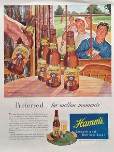 1947 Hamm's  Beer Magazine Ad   Hamm's Beer Magazine  by Inkart