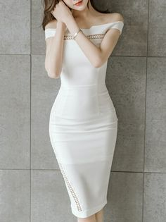 Ethods Off Shoulder Sexy Dress_Strapless&Tube Dress_DRESSES_Wholesale clothing, Wholesale Clothes Online From China Strapless Dress, Bodycon Dress, Tube Dress, Business Outfits, Wholesale Clothing, Tights, China, Stylish, Shoulder