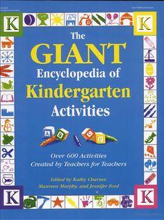 The Giant Encyclopedia of Kindergarten Activities - Google Books