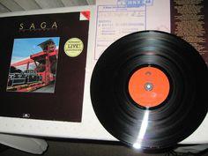 Saga  - In Transit GER 1982 Lp vg++