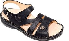 fff45ef99 Women s Finn Comfort Gomera Soft - Black Leather with FREE Shipping  amp   Exchanges. This