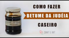 COMO FAZER BETUME DA JUDÉIA CASEIRO ARTESANATO :: CRAFT E ART - YouTube Diy Shows, Cute Diy Projects, Ink Master, Patina Finish, Clay Tutorials, Bookbinding, Glass Bottles, Metal Art, Decoupage