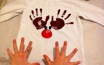 Handprint Reindeer T-Shirt