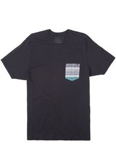 Rip Curl Exile Custom Pocket Tee  Tops T-Shirts