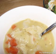 Crock Pot Chicken and Dumplings | Staying on the Sunnyside