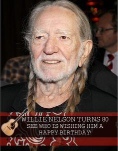Willie Nelson turns 80: has a new album out and continues to find unique ways to give back.