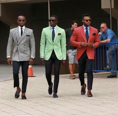 Always great to see Elegant Men Style with the synchronized colors