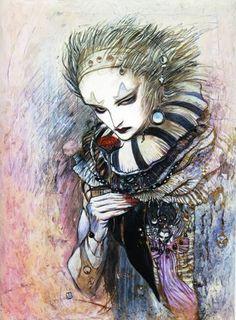 Yoshitaka Amano #Kefka #Joker