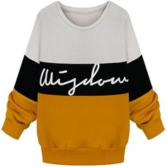 Multi-colored; long sleevesround neck; pulloverribbed cuffs and hemletters print; fleece linedslim fitcotton & fleecemachine wash cold