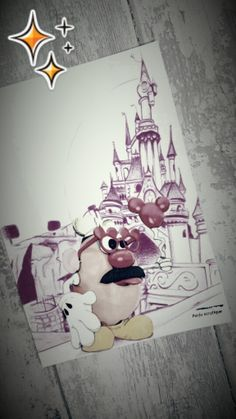 Monsieur patate à disneyland . https://www.facebook.com/purjuacrylique