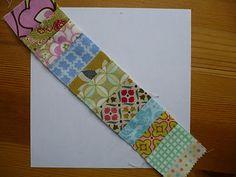 Miss Print: Tutorial: Pieced Centre String Quilt Block  Love this!