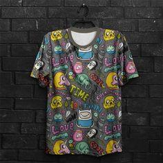fd4d94b15 Camiseta Hora de Aventura Fun. Ops Camisetas