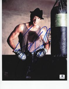 Sylvester Stallone Rocky Signed 8x10 COA GAI | eBay