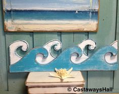 Las ondas muestra cuadros Art Beach casa por CastawaysHall