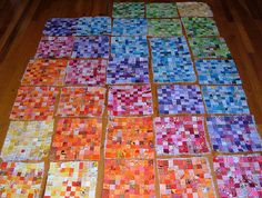 Postage Stamp Progress September 8 Rainbow diagonal | Flickr - Photo Sharing!