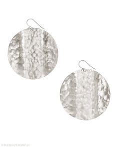 Jewelry Box by Silpada Designs   Earrings   Sterling Silver Disc Earrings