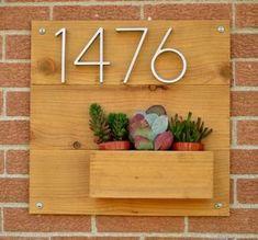 Creative House Number Ideas_37