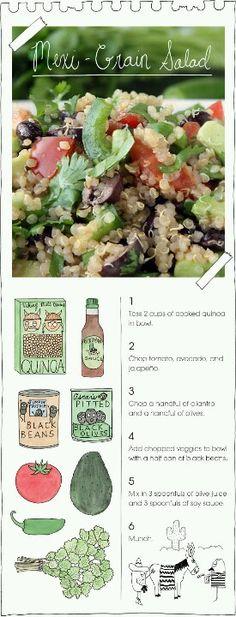 Quinoa salad!