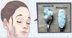 Esta é a forma certa de usar óleo de coco e bicarbonato no rosto para ficar anos mais jovem! | Cura pela Natureza