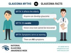 #Glaucoma is a very misunderstood disease. Often, people don't understand the severity or who is affected by the disease. Check out the top 3 #myths & #facts. #eyedisease