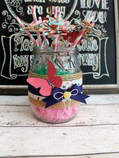 A Jar Full of Flowers.