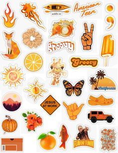 Orange Sticker Pack bright orange dark orange sticker light orange pastel orange… – Well come To My Web Site come Here Brom Stickers Cool, Tumblr Stickers, Phone Stickers, Printable Stickers, Planner Stickers, Cute Laptop Stickers, Orange Pastel, Light Orange, Orange Orange