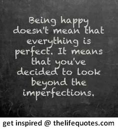 Being Happy Quotes