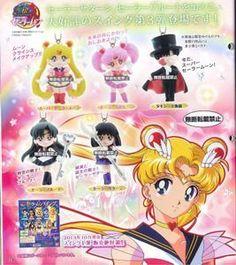 Sailor Moon: 20th Anniversary Gashapon V3 (Set of 5) $20.00