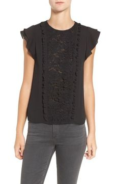 Rebecca Minkoff 'Lulu' Lace Top available at #Nordstrom
