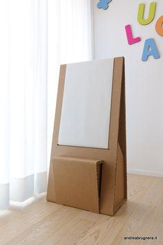 andrea brugnera designer stanza giochi cartone bambini arredi ecologici cardboard kids-016