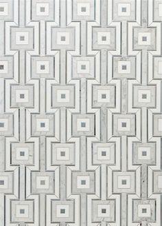 Walker Zanger Jetset Stone Mosaic, Mosaic Tiles, Wall Tiles, Tiling, Marble Mosaic, Floor Patterns, Tile Patterns, Textures Patterns, Floor Design