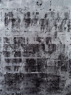 Nick Mauss. Corridor, 2008. Silver leaf and acrylic on panel, 233/4 x 173/4.