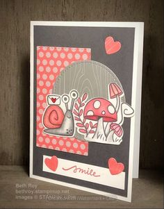 Snail Cards, Stamping Up Cards, Animal Cards, Send A Card, Pattern Paper, Homemade Cards, Note Cards, Paper Pumpkin, Cardmaking