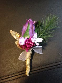 Lavender and purples corsage set from hen house designs www hen house designs in denham springs la mightylinksfo