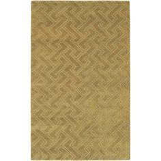 Mugal Plush Pile L 36 X W 24 Rectangle Wool Rug IN-8052