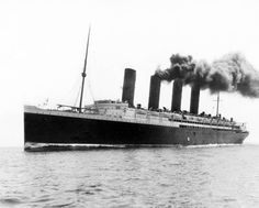 Lusitania on her acceptance trials 1907