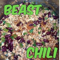 My Body. My Life.: Body Beast Turkey Chili