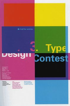 Poster designed by Phillippe Apeloig, Paris for Linotype 1999.