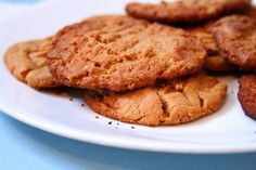 Low Carb, gluten free Peanut Butter Cookies - great for induction if you're an Atkins fan