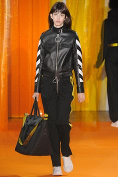 Off-White, Look #17 Fall Winter 2016 - Paris Man Fashion Week - Bxy Frey