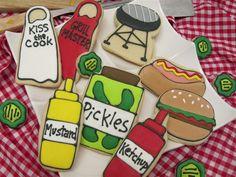 Summer cookies from cheriscookies.com
