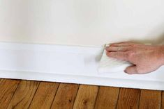 We have the best way to clean baseboards and keep them cleaner longer! Your house will never look the same! #cleaning #clean #cleaner #home #baseboards Homemade Cleaning Supplies, Diy Home Cleaning, Household Cleaning Tips, Deep Cleaning Tips, Household Chores, House Cleaning Tips, Natural Cleaning Products, Cleaning Checklist, Cleaning Solutions