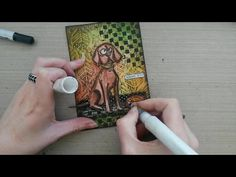 Made by Sannie: Thank You card with video tutorial