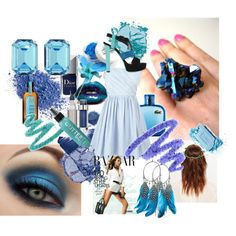"""""""your giving me the blues!"""" by lips-like-liquid on Polyvore"""