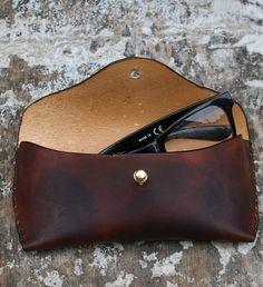 Handmade Leather Glasses Case